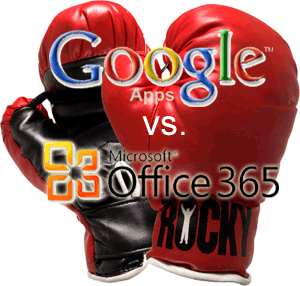 Google Apps vs. Microsoft Office 365