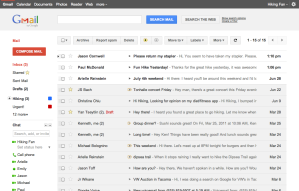 New Gmail Screen